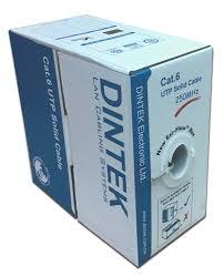 PowerMAX500 Gray Cat.6 UTP 23AWG PVC Cable - 305Mtr